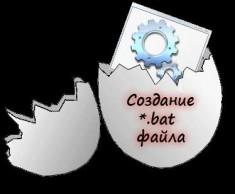 Как сделать bat вирус
